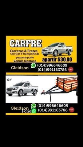 Carreto e frente R$ 30,00 Bauru sp - Foto 4