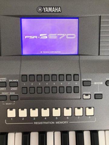 Vendo teclado s670