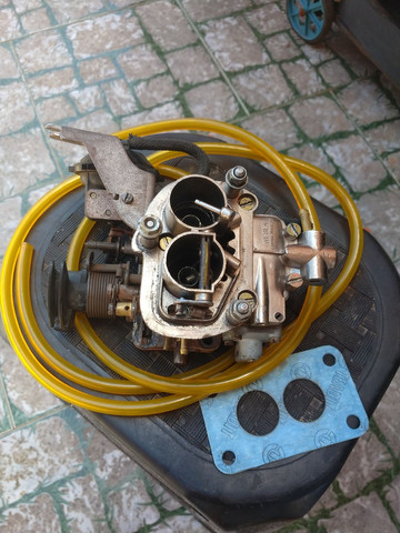 Carburador Mini-progressivo Weber Álcool  - Foto 2