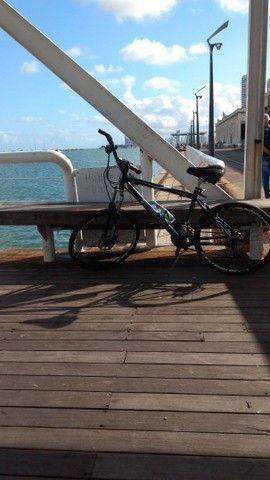 Bike aro 26 troco uma guitarra e amplificador  - Foto 4