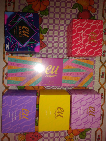 6 kits de Sabonetes Hidratante Linha Eu Jequiti - Foto 6