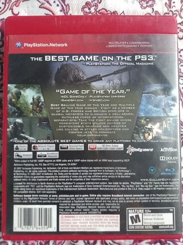 Call of Duty 4 - PS3 - Foto 2