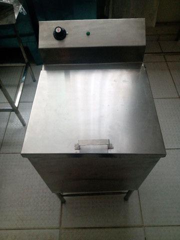 Maquina de branqueamento (casa das máquinas)