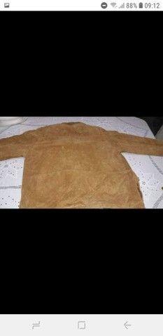 Vendo jaqueta de couro original  - Foto 4