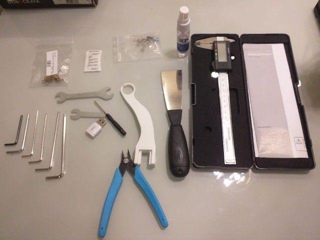 Impressora 3D Ender 3 pouquíssimo uso!! - Foto 3