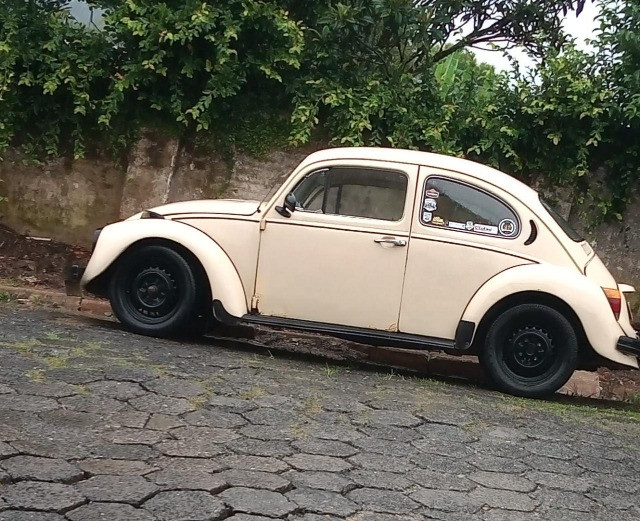 Fusca 79 Bege