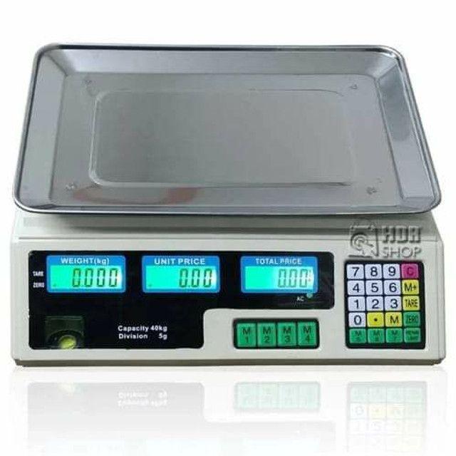 Balança digital até 40 kilos  - Foto 2