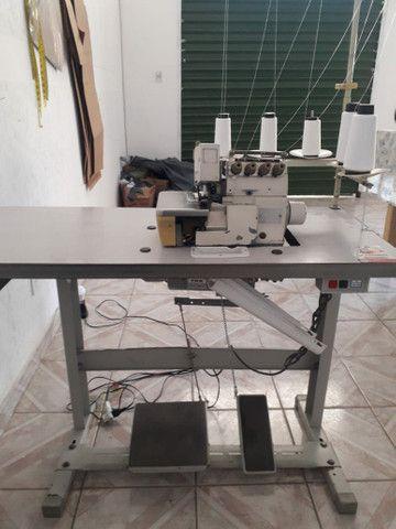 Maquina reta e máquina interlock industrial - Foto 3