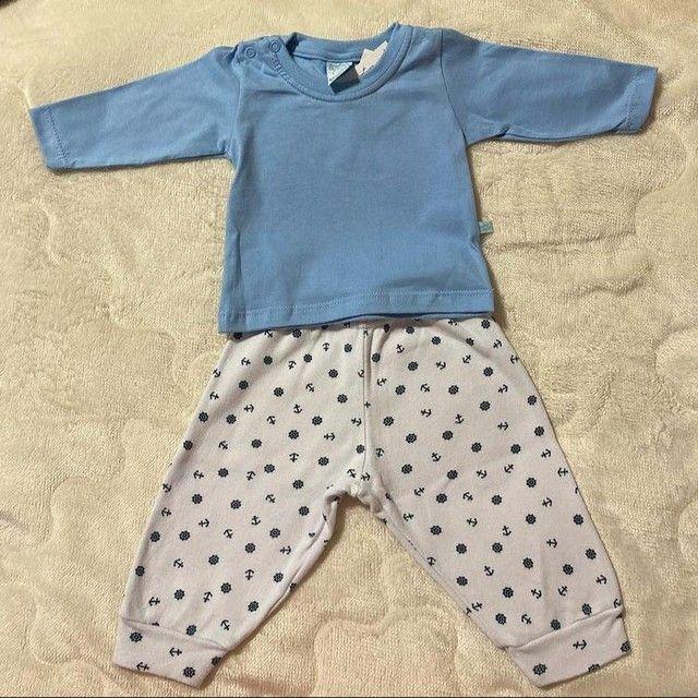 Conjuntinho para bebê(calça + camiseta)