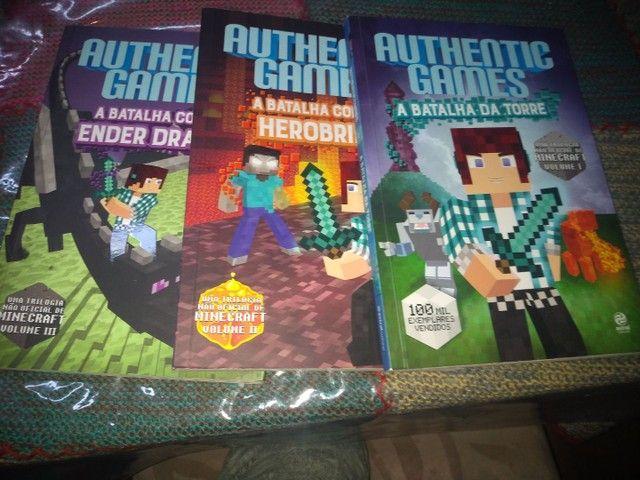 Coleção de livro authentic games