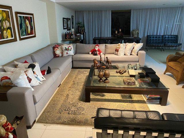 (RBA) Alugo apt. luxuoso, 240m², 3 Suítes, lazer, decorado e mobiliado, vista incrível! - Foto 8