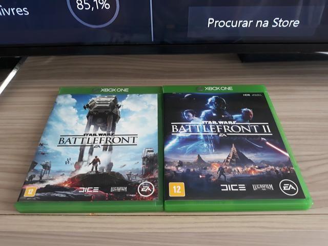 Xbox One (Star Wars Battlefront I e II e Forza 7)