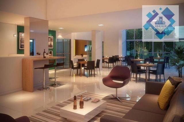 Apartamento com 3 dormitórios à venda, 68 m² - Benfica - Fortaleza/CE - Foto 9