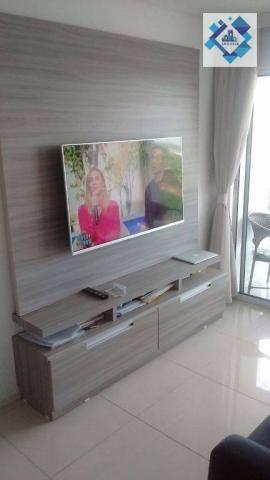 Apartamento com 3 dormitórios à venda, 72 m² por R$ 460.000,00 - Guararapes - Fortaleza/CE - Foto 6