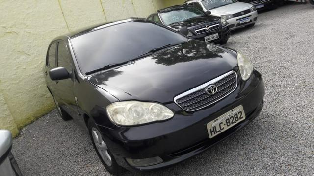Corolla xli 1.8 aut banco couro - financio em até 48× - Foto 2
