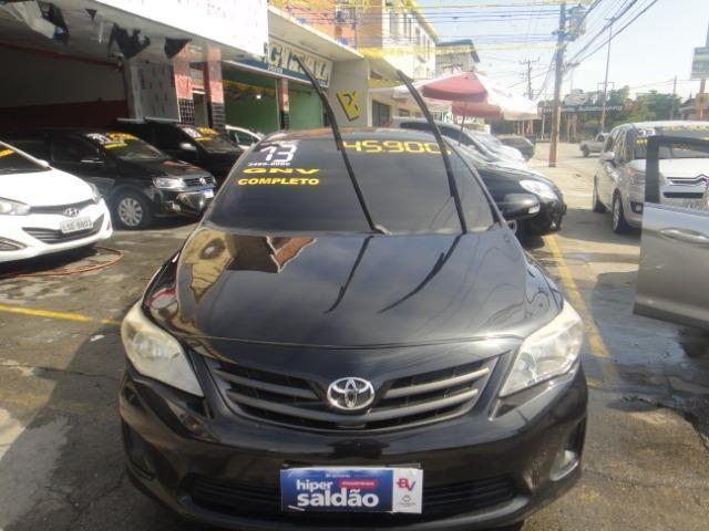 Toyota Corolla Financio ate sem entrada+gnv d quint ger+ completo troca moto ou carro - Foto 12