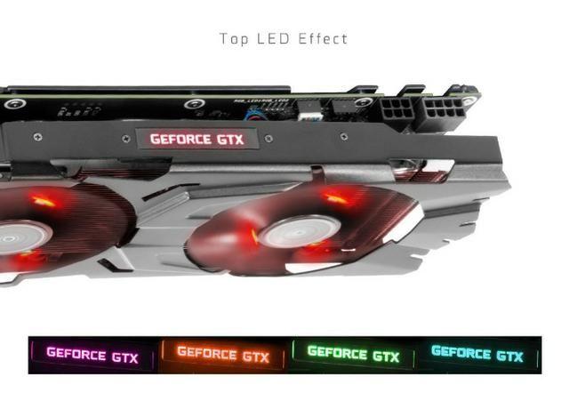 Placa de video gtx 1070 rgb galax ex 8GB gddr5 256-bit dp*3/hdmi/dvi-d
