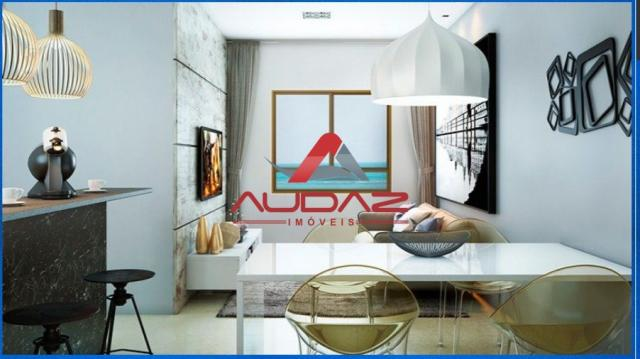 Apartamento à venda com 1 dormitórios em Ponta de campina, Cabedelo cod:1500 - Foto 5