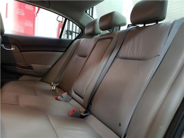 Honda Civic 2.0 lxr 16v flex 4p automático - Foto 9