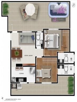 Apartamento à venda com 2 dormitórios em Santa efigenia, Belo horizonte cod:19235