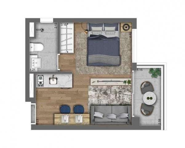 Studios e 1 dormitório - ao lado da estação Oscar Freire - Pinheiros, SP - Foto 18