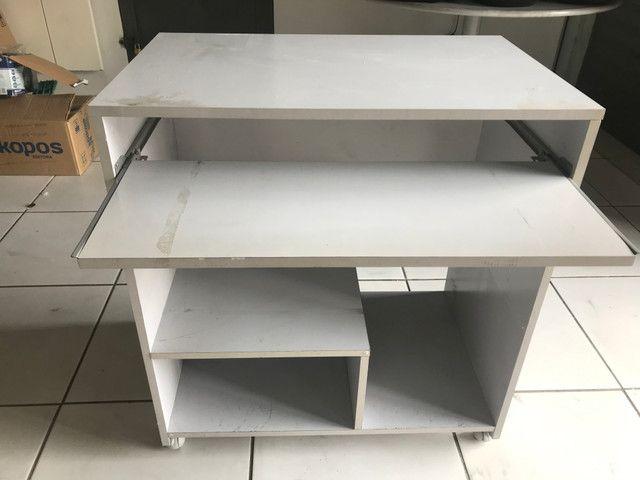 Mesa para computador cinza - Foto 3