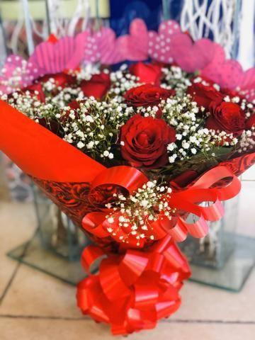 Flores buquês cestas - Foto 2