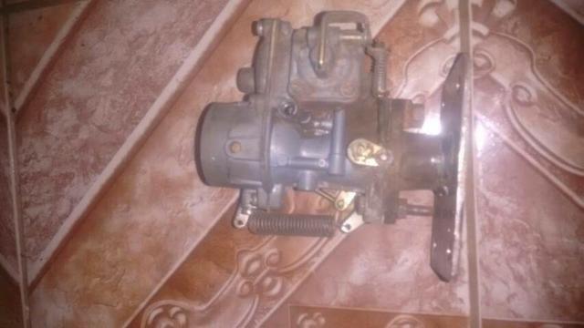 Carburador de fusca com adaptação para uno