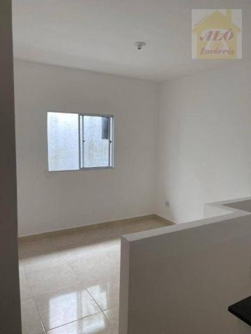 Casa com 2 dormitórios à venda, 50 m² por R$ 144.900 - Maracanã - Praia Grande/SP - Foto 4
