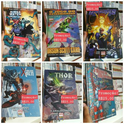 Quadrinhos Marvel e DC - Foto 2
