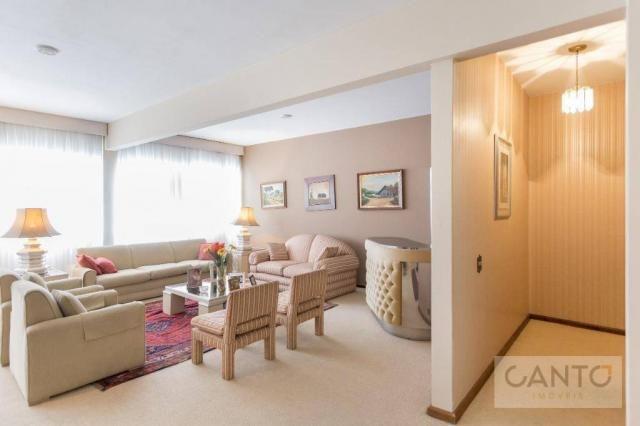 Apartamento com 4 dormitórios (1 suíte) à venda no Alto da XV, 289 m² por R$ 779.000 - Cur - Foto 3