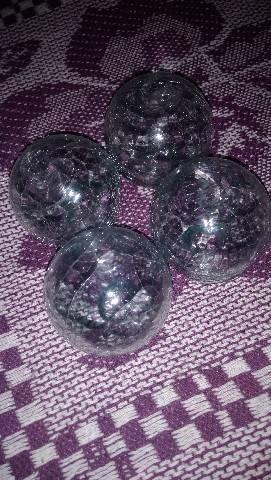 Bolinhas de vidro - Foto 4