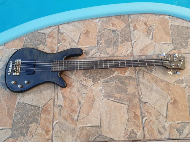 Baixo Warwick Corvette Double Buck 5 Made in Germany - Foto 3