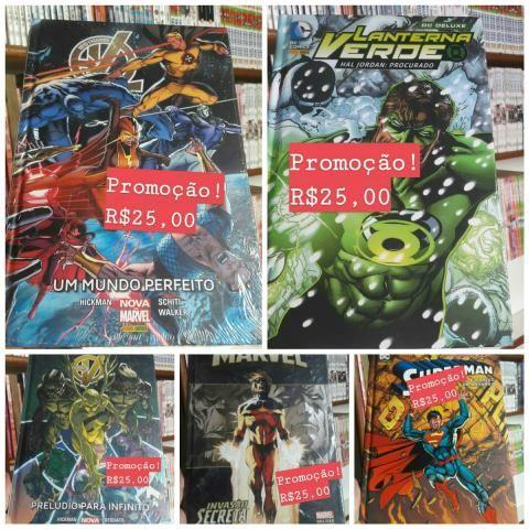 Quadrinhos Marvel e DC