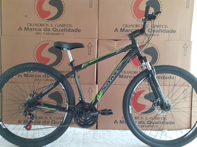 """Bicicleta 29"""" tem 19"""" susp+disco"""