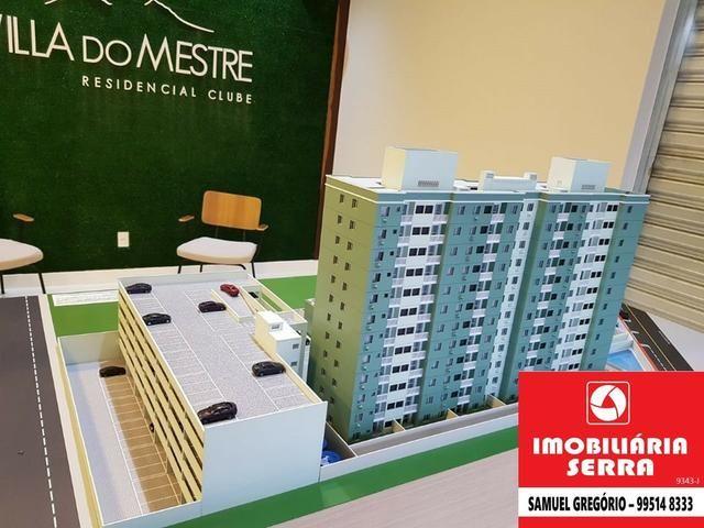 SAM 179 Villa do Mestre - 50m² - 2 quartos c/suite - Entrada facilitada - Foto 3