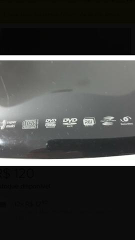 Vendo com urgência Drive ( Lg ) Portátil Gravador/leitor De Dvd/cd - Foto 3