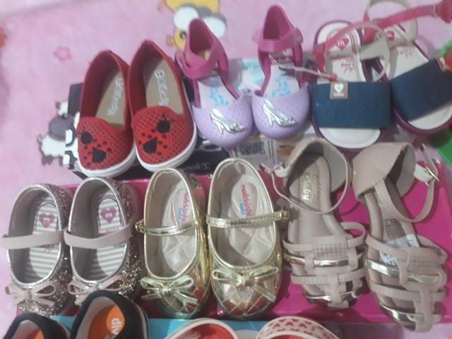 Lote de sapatos novos e usado - Foto 4