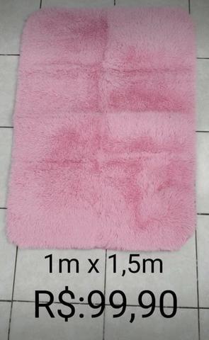 Vendo tapete 1 m x 1,5 m novo