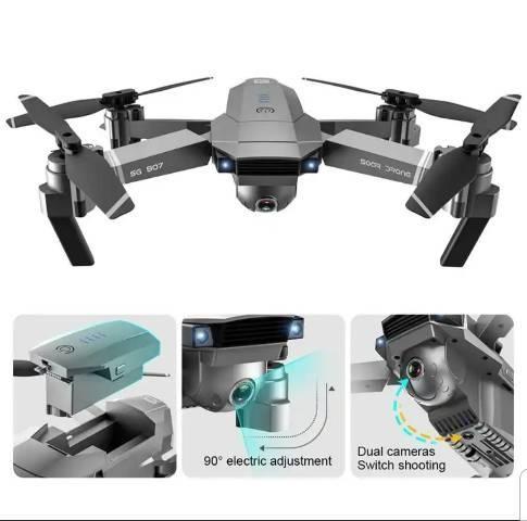 DRONE SG 907 - DISTANCIA 500M/ GPS / 2 CÂMERAS