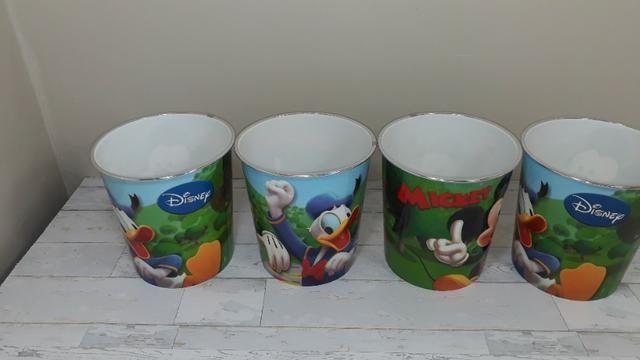 Potes do Mickey - Novos - sem uso - 04 peças