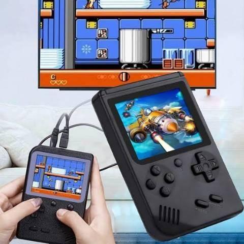 Vídeo Game Portátil 400 Jogos Internos Mini Game Sup Retro - Foto 4