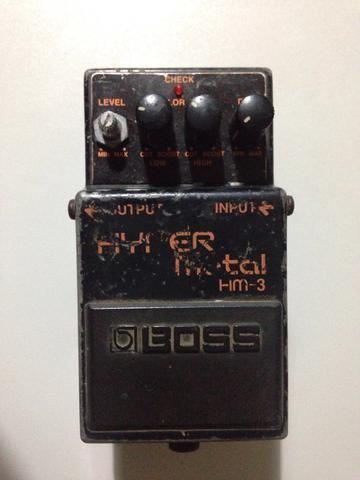 Pedal Guitarra Boss Hyper Metal HM-3 - Foto 4