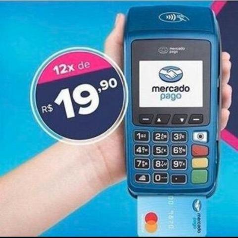 Maquininha de cartão de crédito e débito
