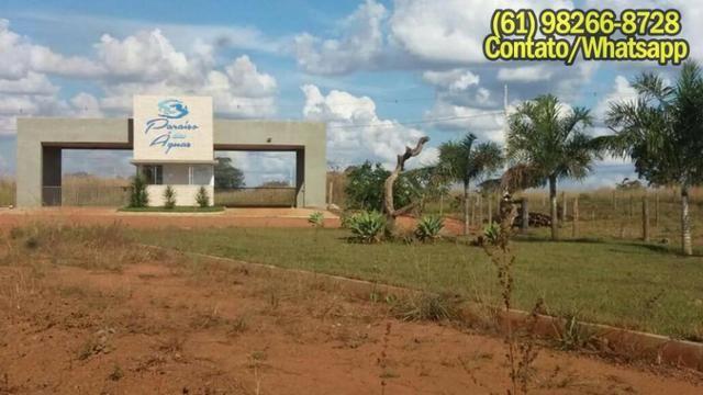 Terrenos no Corumbá IV, Agua potavel, Energia, Ruas largas Par.cela até 120X - Foto 19