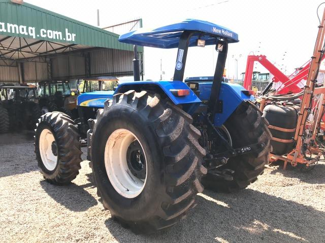 New Holland 7630 4x4 ano 2008 - Foto 5