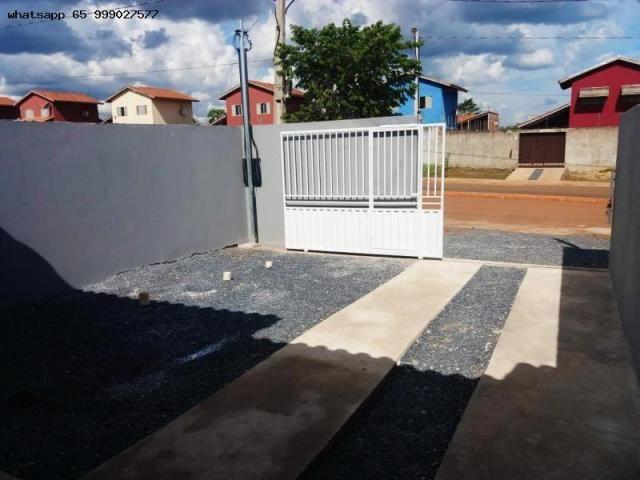 Casa para Venda em Várzea Grande, Novo Mundo, 2 dormitórios, 1 suíte, 1 banheiro, 2 vagas - Foto 7