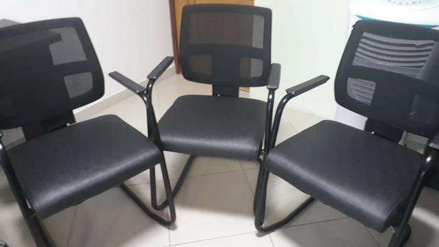 Cadeiras de escritorio *Aceitamos cartao