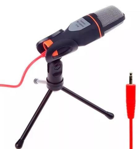 Microfone Condensador Para Gravações Skype e Celular