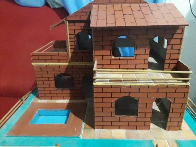 Casinha de bonecas abajur  - Foto 2